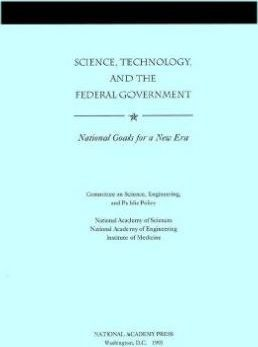 Science, Technology, and the Federal Government