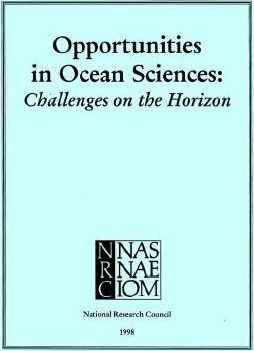 Opportunities in Ocean Sciences