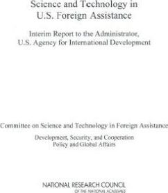 Science and Technology in U.S. Foreign Assistance