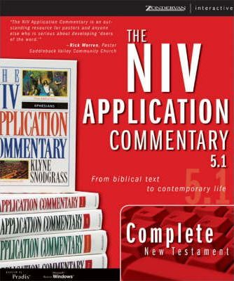 The New Testament, NIV Application Commentary 5.1 for Windows