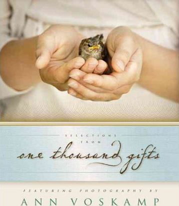 Selections from One Thousand Gifts