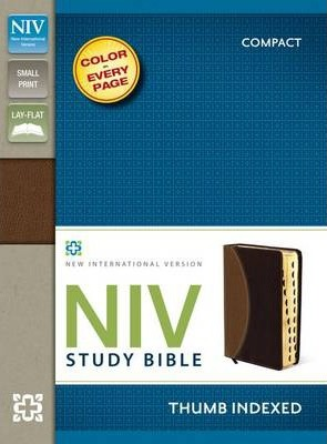 Download the book Niv study bible, compact, leathersoft, tan