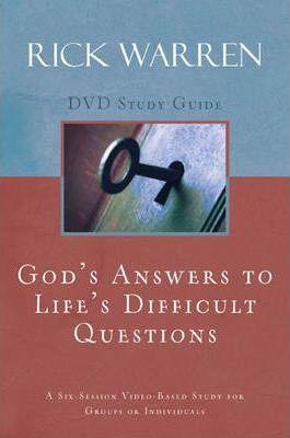 God's Answers to Life's Difficult Questions, Session 4