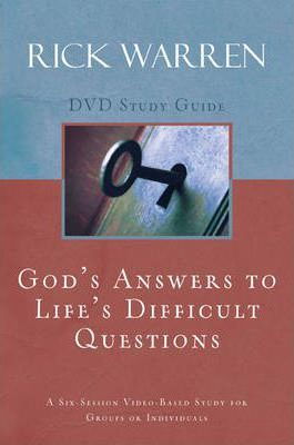 God's Answers to Life's Difficult Questions: Study Guide Session 1