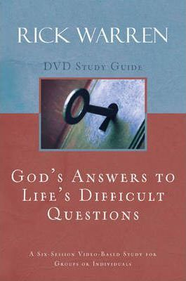 God's Answers to Life's Difficult Questions: Study Guide Session 6