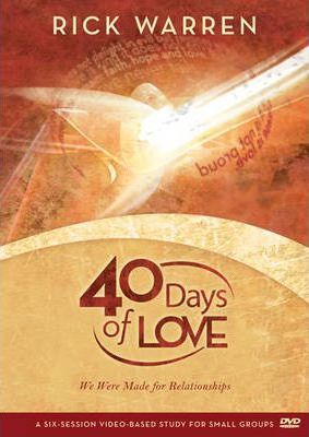 40 Days of Love Study Guide: Session 1