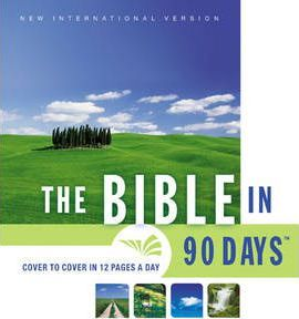 Bible in 90 Days: Whole-church Challenge Leader's Pack