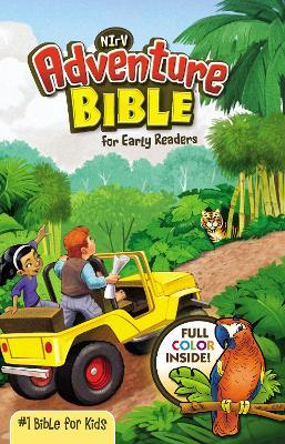 NIrV, Adventure Bible for Early Readers, Hardcover, Full Color Cover Image