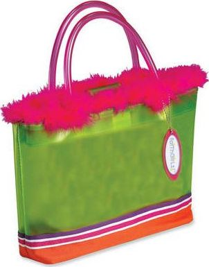 Faithgirlz! and Feather Fun Limeade Green Carrier