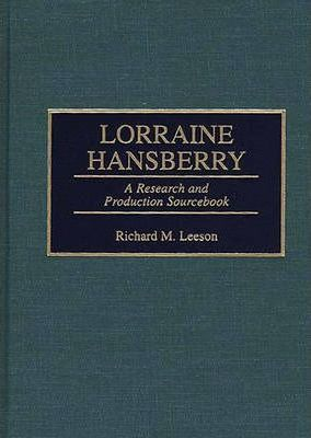 annotated bibliography lorraine hansberry
