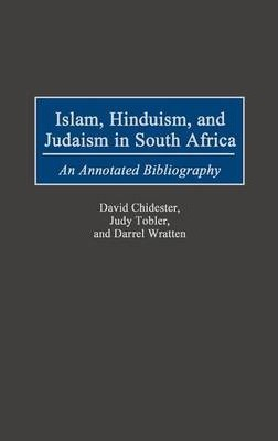 Islam, Hinduism and Judaism in South Africa
