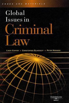 Global Issues in Criminal Law