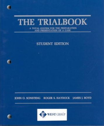 The Trialbook Student Edition