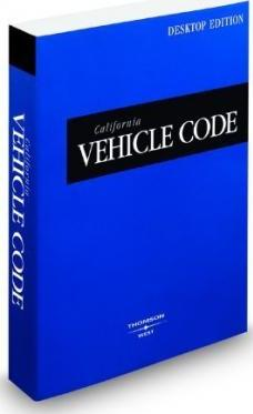 California Vehicle Code 2009