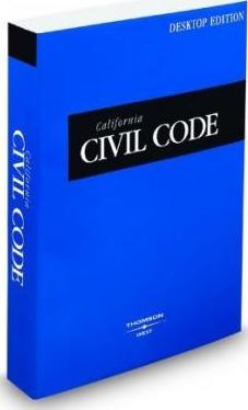 California Civil Code 2009
