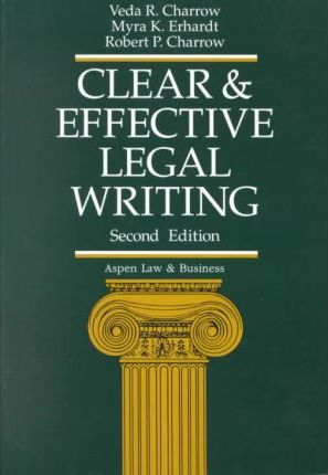 Clear and Effective Legal Wri Pb