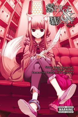 Spice and Wolf, Vol. 5 (manga) Cover Image