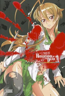 Highschool of the Dead Color Omnibus, Vol. 1 Cover Image