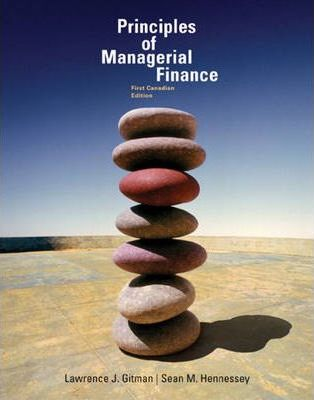 Principles of Managerial Finance, First Canadian Edition thumbnail