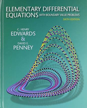 Elementary Differential Equations with Boundary Value Problems and Student Solutions Manual