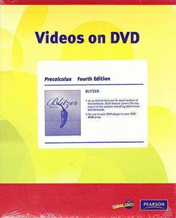 Videos on DVD for Precalculus