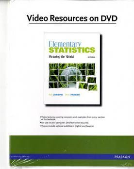 Videos on DVD for Elementary Statistics