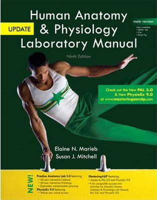 Human Anatomy Physiology Laboratory Manual With Masteringap Main