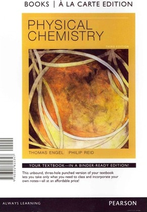 Physical Chemistry, Books a la Carte Edition : Thomas Engel