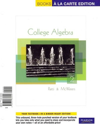 College Algebra With Mymathlab Student Access Kit Affiliation