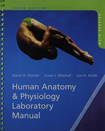 Human Anatomy Physiology Laboratory Manual Main Version Plus