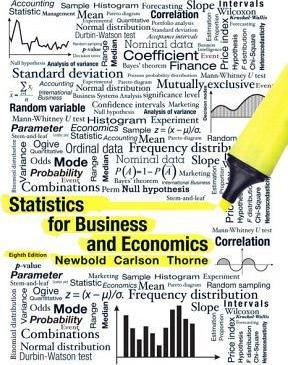 Statistics for Business and Economics Plus Mylab Statistics with Pearson Etext -- Access Card Package