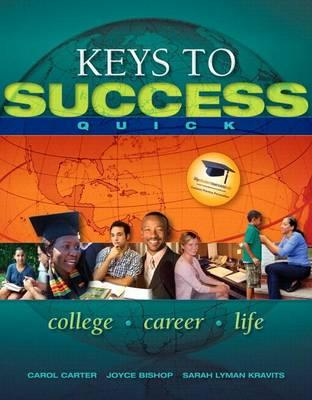 Keys to Success Quick Plus New Mystudentsuccesslab Update -- Access Card Package