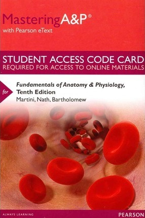 Mastering A&P with Pearson eText -- Standalone Access Card -- for ...