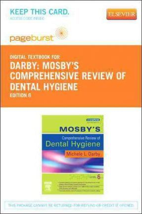 mosbys comprehensive review of dental hygiene