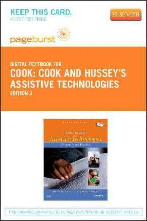 Cook And Husseys Assistive Technologies Elsevier Ebook On