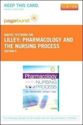 Pharmacology and the Nursing Process - Elsevier eBook on Vitalsource (Retail Access Card)