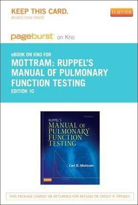 Allied Health Services Medicine Manual of Pulmonary Function Testing