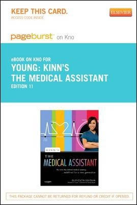 Kinn's the Medical Assistant - Elsevier eBook on Intel Education Study (Retail Access Card)  An Applied Learning Approach