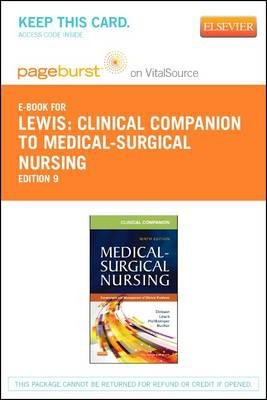Clinical Companion to Medical-Surgical Nursing - Elsevier eBook on Vitalsource (Retail Access Card)