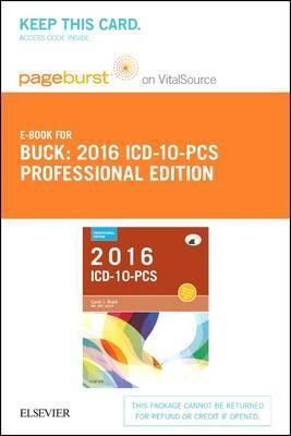 2016 ICD-10-PCs Professional Edition - Elsevier eBook on Vitalsource (Retail Access Card)