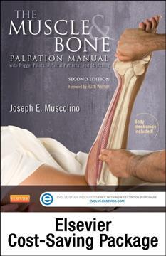 The Muscle and Bone Palpation Manual with Trigger Points, Referral Patterns and Stretching - Elsevier E-Book on Vitalsource and Evolve Package (Retail Access Cards)