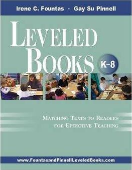 Leveled Books: K8