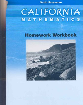 California Mathematics Homework Workbook Grade 2