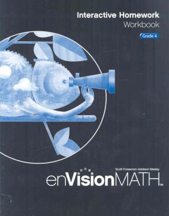 Math 2009 Homework Workbook Grade 4