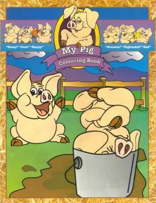 My Pig - Colouring Book