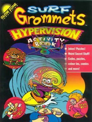 Surf Grommets Hypervision Colouring Book