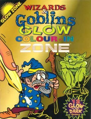 Glow Zone: Wizards and Goblins Colour-in