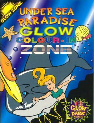 Glow Zone: under Sea Paradise Colour-in