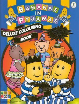 Bananas Deluxe Colouring Book