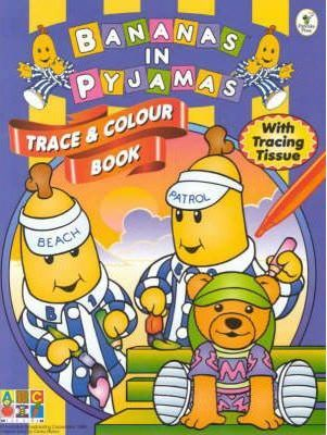 Bananas Trace & Colour Book